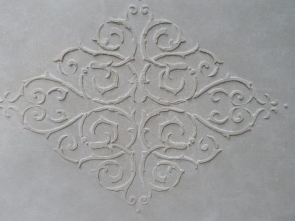 autentico 3d pasta reljeefne šabloon