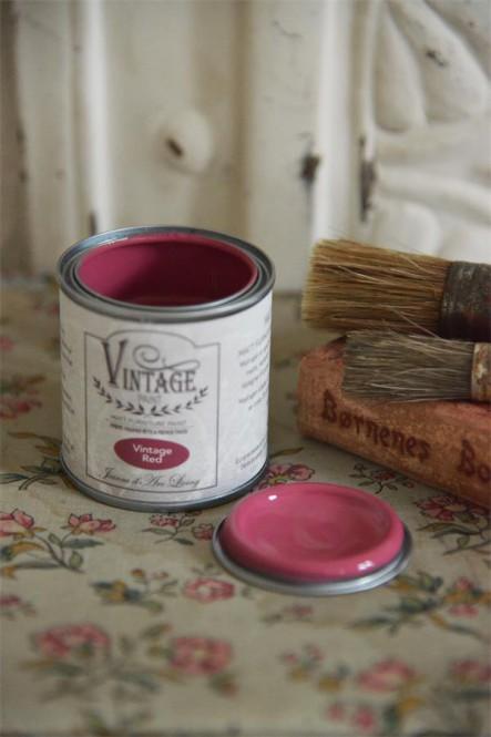 Kriidivärv Vintage Red