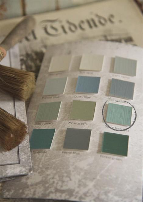 Kriidivärv Dusty Turquoise