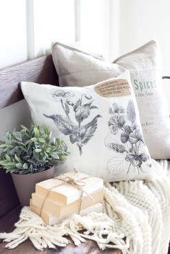 DIY-Vintage-Botanical-Print-Pillow-7-of-10