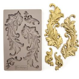 Silikonvorm, ornament, redesign prima, dekoor