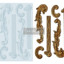 Silikonvorm, ornament, redesign prima, dekoor,