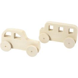 puidust, puust auto, mänguauto