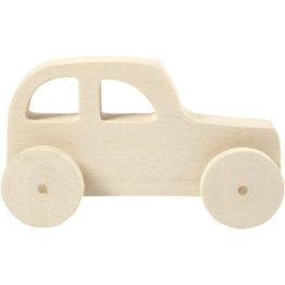 puust auto, mänguauto