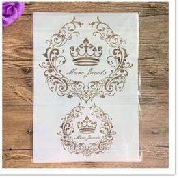 Šabloon kroon A4