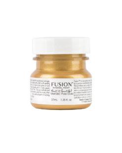 fusion mineram paint pale gold